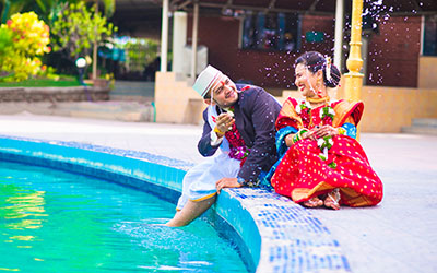 candid wedding photographers in pune india knots forever